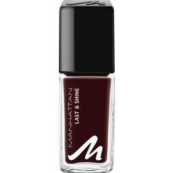 MANHATTAN Cosmetics Nagellack Last & Shine Nail Polish Red Night 560