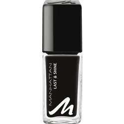 MANHATTAN Cosmetics Nagellack Last & Shine Nail Polish BLACK IS BACK 950