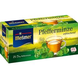 Meßmer Kräuter-Tee, Pfefferminze (25x2,25g)