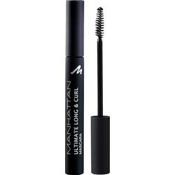 MANHATTAN Cosmetics Wimperntusche Long & Curl Mascara Black 1010N