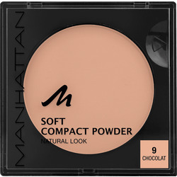 MANHATTAN Cosmetics Gesichtspuder Soft Compact Powder Chocolat 09