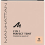 MANHATTAN Cosmetics Gesichtspuder 2in1 Perfect Teint Powder & Make-up Beige 16