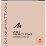 MANHATTAN Cosmetics Gesichtspuder 2in1 Perfect Teint Powder & Make-up Rose 17
