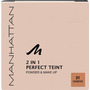 MANHATTAN Cosmetics Gesichtspuder 2in1 Perfect Teint Powder & Make-up Sun Beige 21