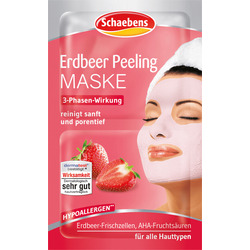 Schaebens Maske Erdbeer Peeling 2x6ml