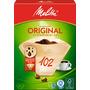 Melitta Kaffee-Filtertüten Original 102 Aroma naturbraun