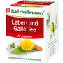 Bad Heilbrunner Arznei-Tee, Leber & Galle Tee (8x1,75g)