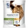 PERFECT FIT Trockenfutter für Katzen, Senior 7+, reich an Huhn