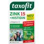 taxofit Zink + Histidin + Vitamin C Depot Tabletten 40 St.