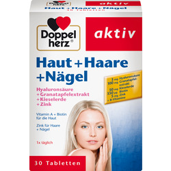 Doppelherz Haut + Haare + Nägel Tabletten 30 St.