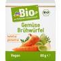 dmBio Gemüse-Brühwürfel, hefefrei