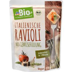 dmBio Fertiggericht italienische Ravioli mit Gemüsefüllung
