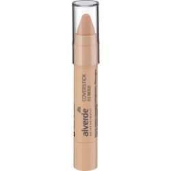 alverde NATURKOSMETIK Concealer Chubbby Stick 02 beige