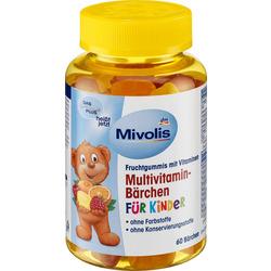 Mivolis Multivitamin-Bärchen für Kinder, Fruchtgummis