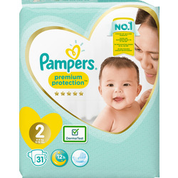 fc0538e7c8 Pampers Windeln premium protection New Baby, Größe 2 Mini, 4-8kg
