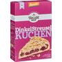 Bauckhof Backmischung für Streuselkuchen, Dinkel, demeter