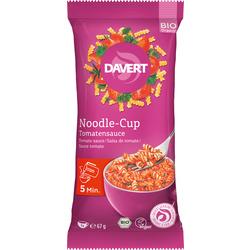 Davert Zwischenmahlzeit, Noodle-Cup, Nudeln mit Tomatensauce
