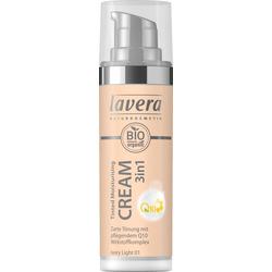Lavera Tinted Moisturising Cream 3in1 Q10 Ivory Light 01