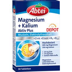 Abtei Magnesium Kalium Aktiv Tabletten 30 St.