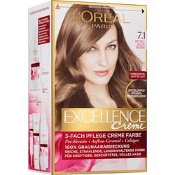 Excellence Haarfarbe Mittelaschblond 7.1, 1 St