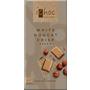 iChoc Schokolade, cremeweiße Reis-Schokolade mit Nougat & Haselnuss-Krokant, white nougat crisp