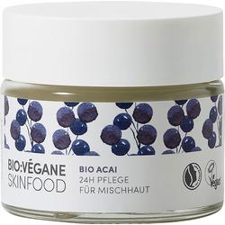 BIO VÉGANE Tagescreme Bio Acai 24h Pflege für Mischhaut