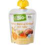 dmBio Quetschbeutel Apfel-Banane-Erdbeere mit Hafer ab 1 Jahr