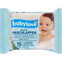 babylove Waschlappen feucht