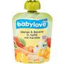 babylove Quetschbeutel Mango & Banane in Apfel mit Karotte ab 1 Jahr