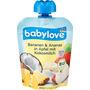 babylove Quetschbeutel Bananen & Ananas in Apfel mit Kokosmilch ab 1 Jahr