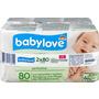 babylove sensitive  Feuchttücher  2x80St