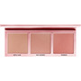 L.O.V Highlighter Palette The GLOWrious deep metallic pink 010