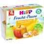 Hipp Früchtebecher Frucht-Pause Banane in Apfel nach dem 4. Monat, 4x100 g
