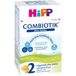 Hipp Folgemilch 2 Bio Combiotik ohne Stärke nach dem 6. Monat