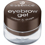 essence cosmetics Augenbrauengel eyebrow gel colour & shape brown 01