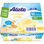 Alete Milchbecher Grießbrei Vanille ab 10. Monat, 4x100g