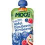 MOGLi Quetschbeutel Trink Obst Apfel Blaubeere Himbeere ab 1 Jahr