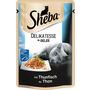 Sheba Nassfutter für Katzen, Delikatesse in Gelee, mit Thunfisch (MSC)