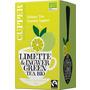 Cupper Grüner Tee, limette & ingwer green tea, Limette & Ingwer, aromatisiert (20x1,75g)