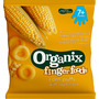 Organix Snack corn puffs with sweetcorn ab 7 Monaten