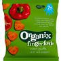Organix Snack corn puffs with red pepper ab 7 Monaten