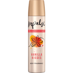 Impulse Deo Spray Deodorant Vanilla Kisses