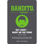 Masquebar Bandito Get Lucky Night on the Town Tuchmaske