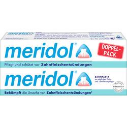 meridol Zahnpasta Doppelpack (2x75ml)