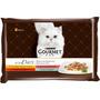 GOURMET Nassfutter für Katzen, A la Carte, 4x85g
