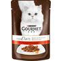 GOURMET Nassfutter für Katzen, A la carte mit Rind