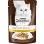 GOURMET Nassfutter für Katzen, A la carte mit Huhn