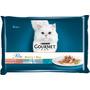 GOURMET Nassfutter für Katzen, Perle, Duetto di Mare, 4x85g