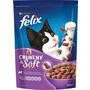Felix Trockenfutter für Katzen, Crunchy & Soft mit Lamm, Truthahn und Gemüsenote