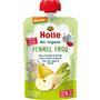 Holle baby food Quetschbeutel Fennel Frog, Birne, Apfel & Fenchel ab 6 Monaten